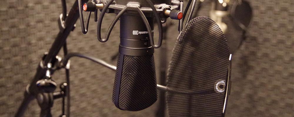 リーズナブルで安定した音質をご提供いたします。弊社声優は勿論、外部に所属されている方へのご依頼なども対応です